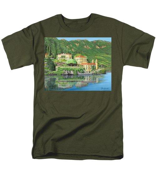 Lake Como Morning Men's T-Shirt  (Regular Fit)