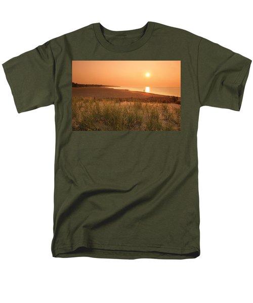 Lake Erie Sunset Men's T-Shirt  (Regular Fit) by Garry McMichael