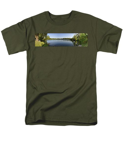 Men's T-Shirt  (Regular Fit) featuring the photograph Lake Victory by Verana Stark