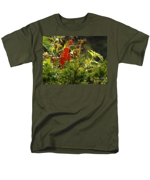 Men's T-Shirt  (Regular Fit) featuring the photograph Lantern Plant by Brenda Brown