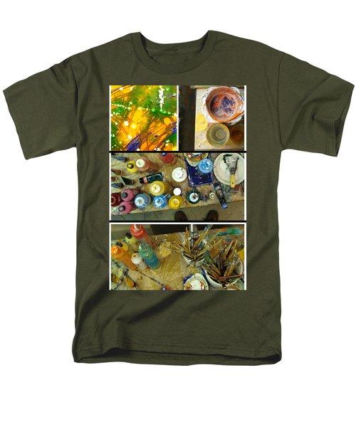 Men's T-Shirt  (Regular Fit) featuring the photograph Les Couleurs by Sir Josef - Social Critic - ART