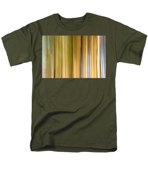 Men's T-Shirt  (Regular Fit) featuring the photograph Light And Snow by Davorin Mance