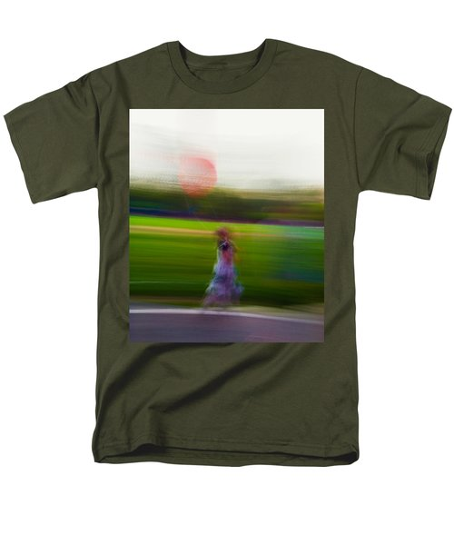 Men's T-Shirt  (Regular Fit) featuring the photograph Lighter Than Air by Alex Lapidus