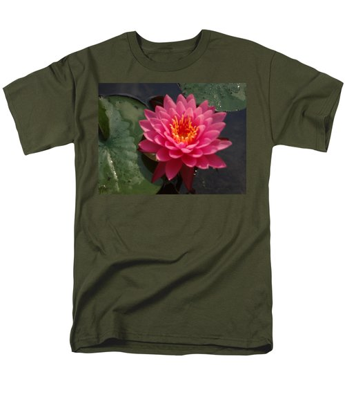 Lily Flower In Bloom Men's T-Shirt  (Regular Fit) by Michael Porchik