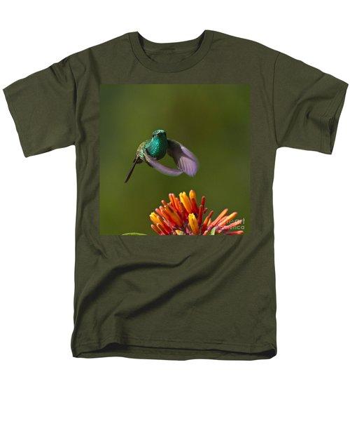 Little Hedgehopper Men's T-Shirt  (Regular Fit) by Heiko Koehrer-Wagner