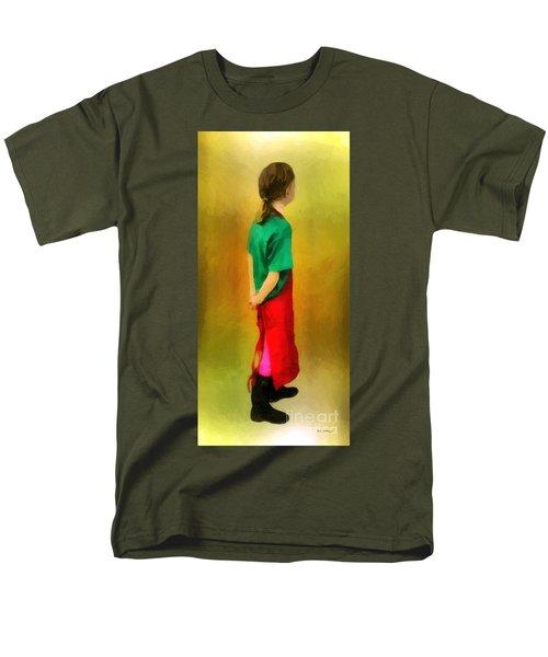 Little Shopgirl Men's T-Shirt  (Regular Fit) by RC deWinter