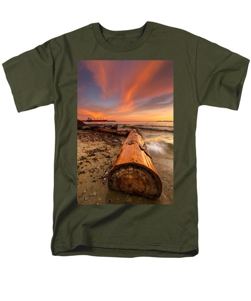 Login To Nature Men's T-Shirt  (Regular Fit) by Eti Reid
