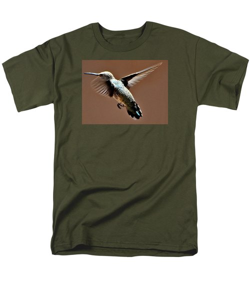 Men's T-Shirt  (Regular Fit) featuring the photograph Look At My Crazy Crows Feet by Jay Milo