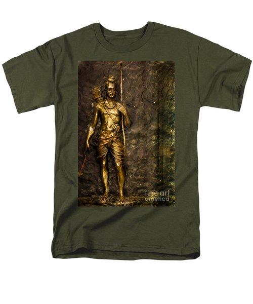 Lord Sri Ram Men's T-Shirt  (Regular Fit) by Kiran Joshi