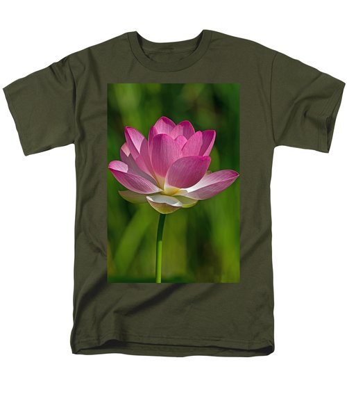 Men's T-Shirt  (Regular Fit) featuring the photograph Lotus Bloom by Jerry Gammon