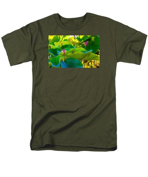Lotus Garden Men's T-Shirt  (Regular Fit) by Roselynne Broussard