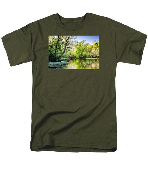 Louisiana Bayou Men's T-Shirt  (Regular Fit) by Kathleen K Parker