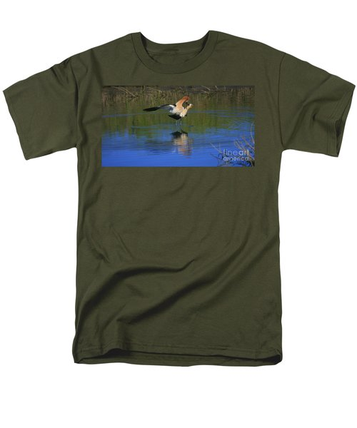 Men's T-Shirt  (Regular Fit) featuring the photograph  Courtship Cross by John F Tsumas