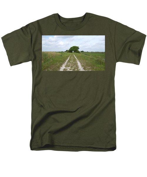 Loxahatchee Wildlife Refuge Men's T-Shirt  (Regular Fit) by Ron Davidson