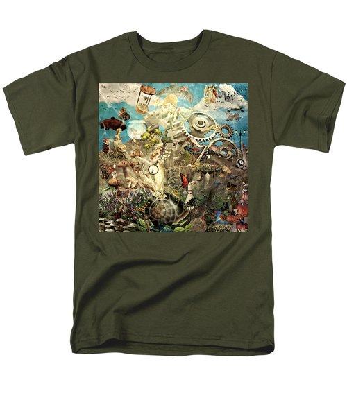 Lucid Dreaming Men's T-Shirt  (Regular Fit) by Ally  White