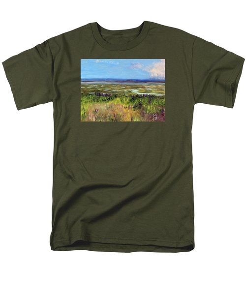 Lupine Of Fort Hill Men's T-Shirt  (Regular Fit) by Michael Helfen