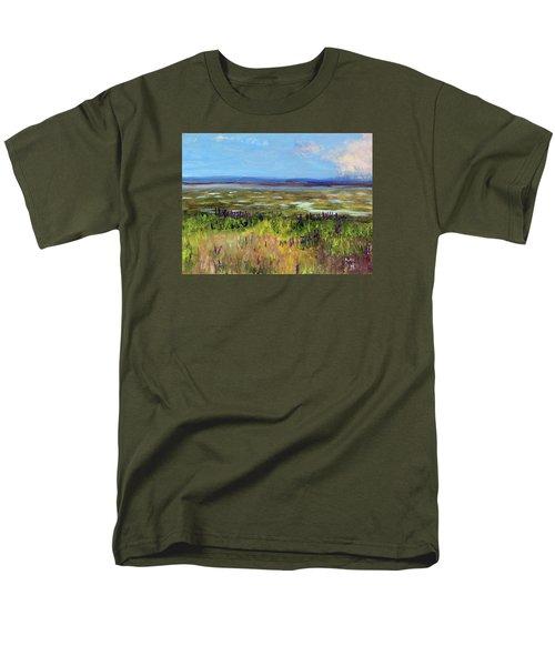 Lupine Of Fort Hill Men's T-Shirt  (Regular Fit)