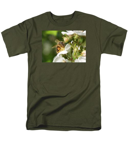 Mad Honeybee Men's T-Shirt  (Regular Fit) by Lucinda VanVleck