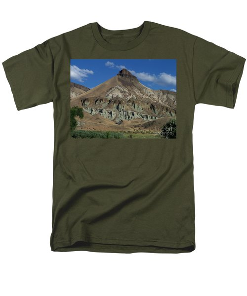 Men's T-Shirt  (Regular Fit) featuring the photograph Majestic Rimrock by Chalet Roome-Rigdon