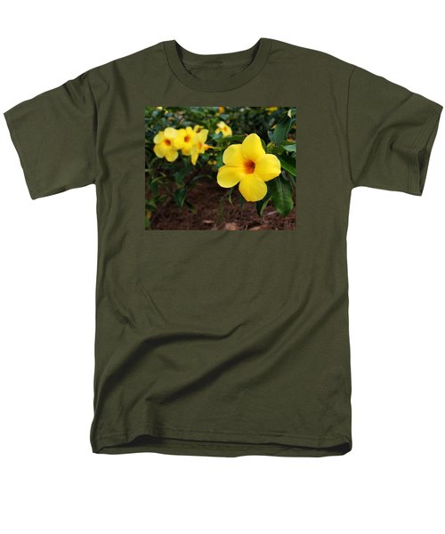 Mandevilla Men's T-Shirt  (Regular Fit) by Judy Vincent