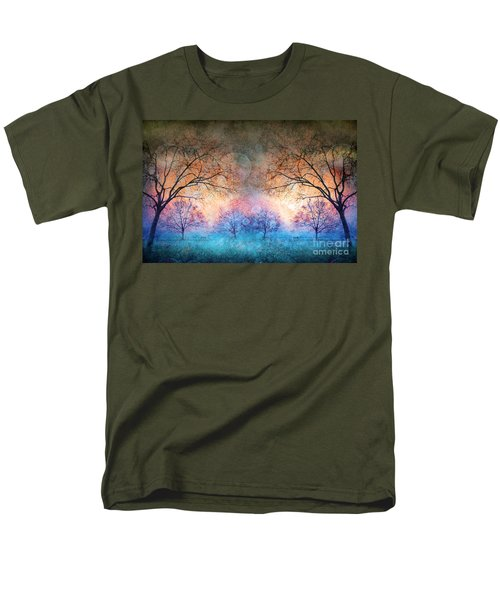 Many Moons Men's T-Shirt  (Regular Fit) by Tara Turner