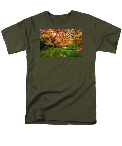 Maple  Men's T-Shirt  (Regular Fit) by Dustin  LeFevre