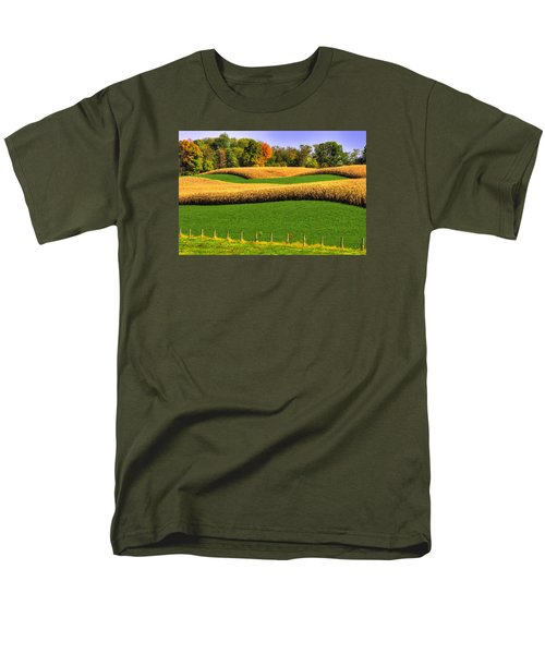 Maryland Country Roads - Swales Men's T-Shirt  (Regular Fit) by Michael Mazaika