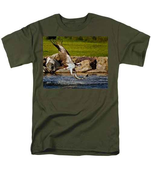Master Fisherman Men's T-Shirt  (Regular Fit) by Jack Bell