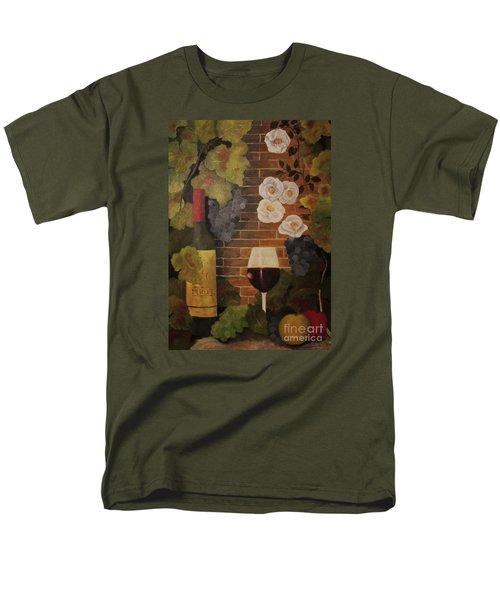 Merlot For The Love Of Wine Men's T-Shirt  (Regular Fit) by John Stuart Webbstock