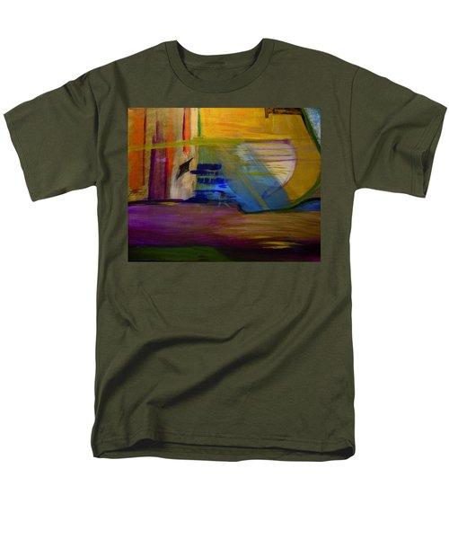 Millenium Park Men's T-Shirt  (Regular Fit) by Dick Bourgault
