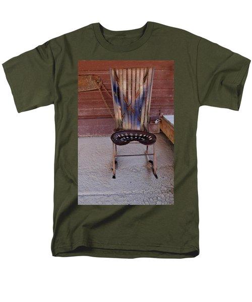 Men's T-Shirt  (Regular Fit) featuring the photograph Miner's Rocker by Fran Riley