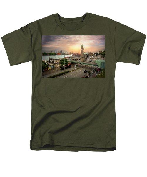 Miniature Hamburg Men's T-Shirt  (Regular Fit) by Daniel Heine