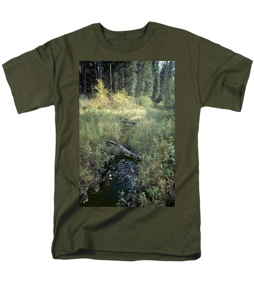 Mississippi River Headwaters Men's T-Shirt  (Regular Fit) by Garry McMichael