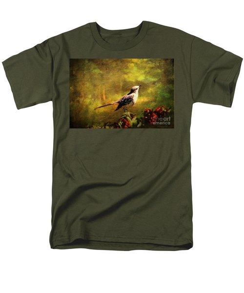 Mockingbird Have You Heard... Men's T-Shirt  (Regular Fit) by Lianne Schneider