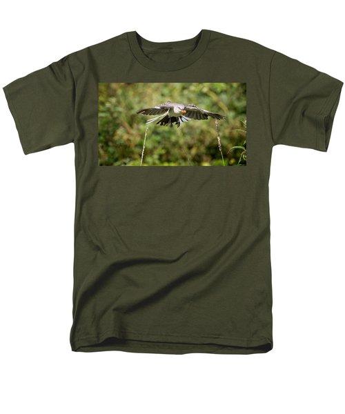 Mockingbird In Flight Men's T-Shirt  (Regular Fit) by Bill Wakeley