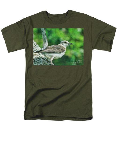 Mockingbird Pose Men's T-Shirt  (Regular Fit) by Deborah Benoit