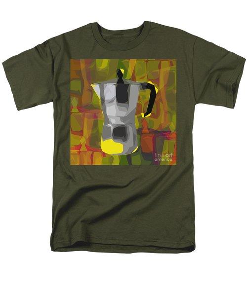 Moka Pot Men's T-Shirt  (Regular Fit) by Jean luc Comperat