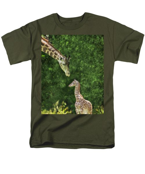 Men's T-Shirt  (Regular Fit) featuring the photograph Momma Loves Me by Marianne Campolongo