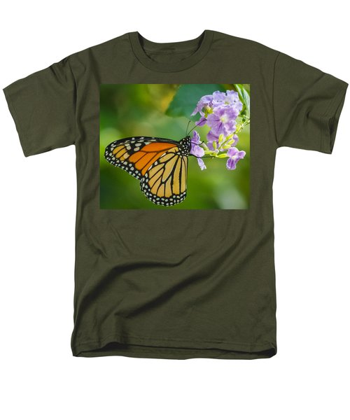 Monarch Butterfly Men's T-Shirt  (Regular Fit) by Jane Luxton