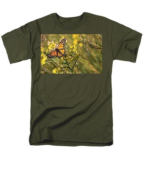 Monarch Hatch Men's T-Shirt  (Regular Fit) by Daniel Sheldon