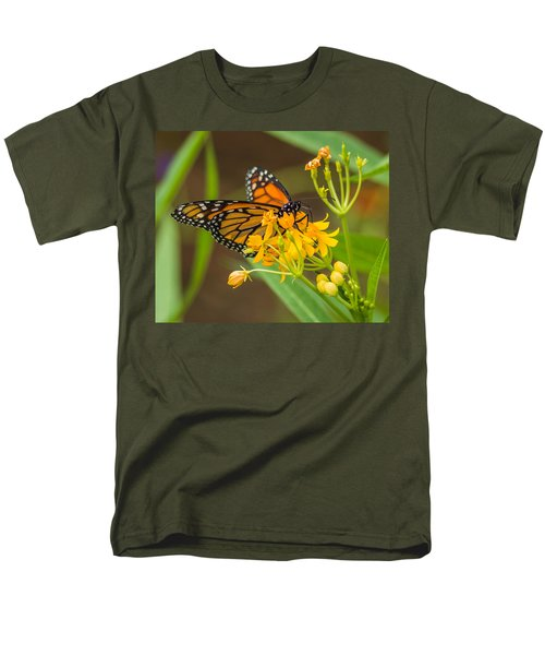 Men's T-Shirt  (Regular Fit) featuring the photograph Monarch by Jane Luxton