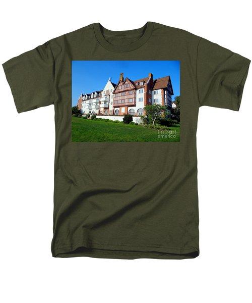 Montauk Manor Men's T-Shirt  (Regular Fit) by Ed Weidman