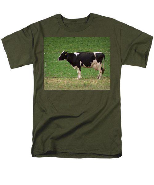 Men's T-Shirt  (Regular Fit) featuring the photograph Moo by Joseph Skompski