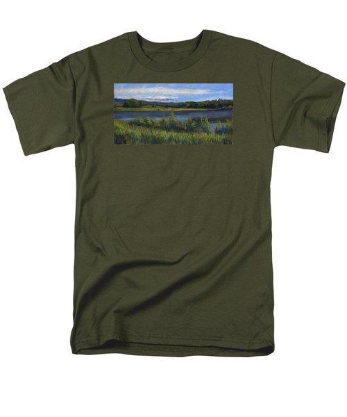 Morey Wildlife Park Men's T-Shirt  (Regular Fit) by Billie Colson
