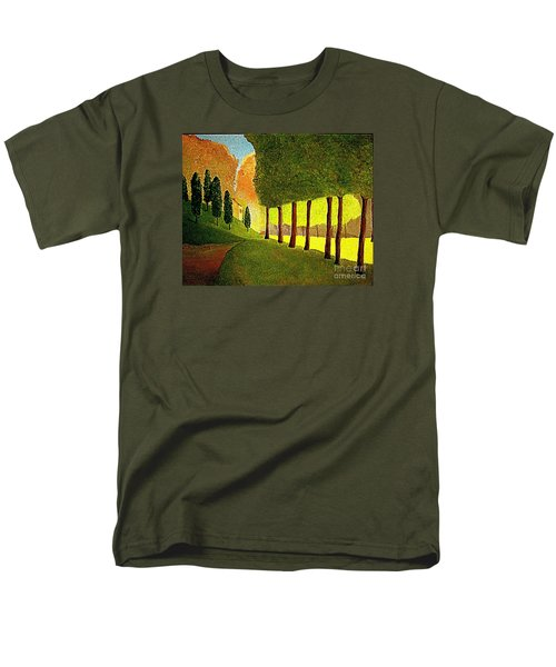 Chambord Morning By Bill O'connor Men's T-Shirt  (Regular Fit) by Bill OConnor