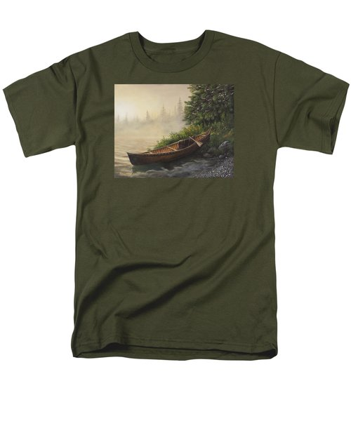 Morning Mist Men's T-Shirt  (Regular Fit) by Kim Lockman
