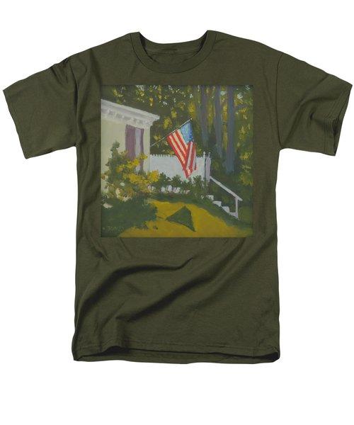 Morning Sun On Old Glory Men's T-Shirt  (Regular Fit)