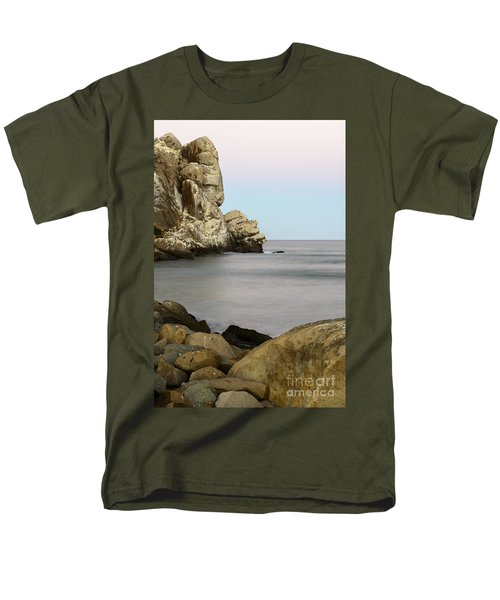 Morro Bay Morning 2 Men's T-Shirt  (Regular Fit) by Terry Garvin