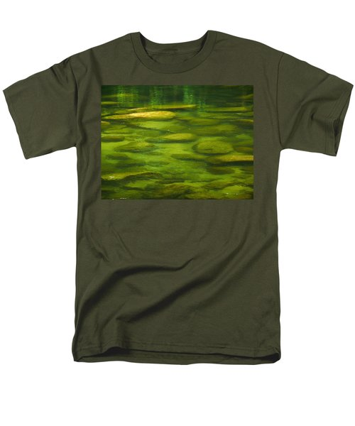 Men's T-Shirt  (Regular Fit) featuring the photograph Mossman by Evelyn Tambour