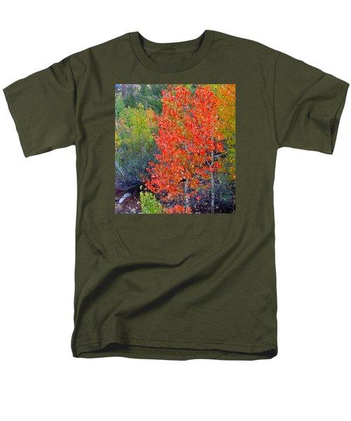 Mountain Color Men's T-Shirt  (Regular Fit) by Marilyn Diaz